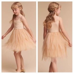 4af45eae9fc Anthropologie Dresses - Gilrs BHLDN Flower Girl Dress Size 4T